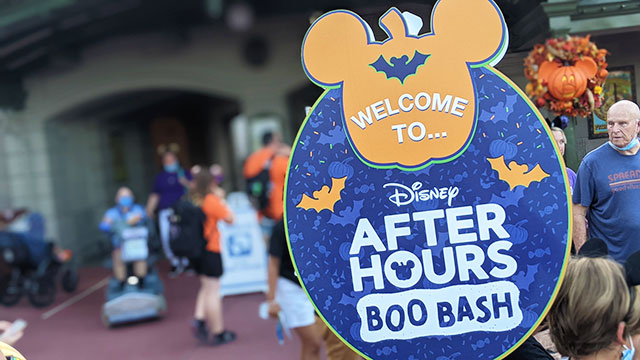 Severe weather results in a Boo Bash washout. How did Disney react?