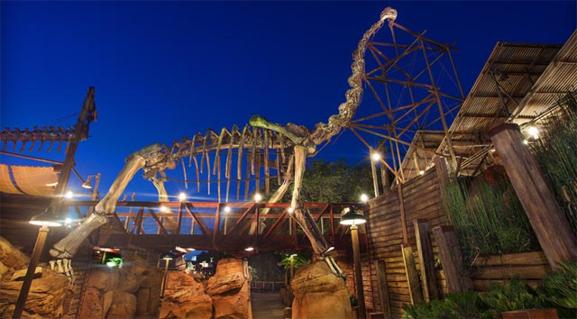 Possible New construction at Disney's Animal Kingdom
