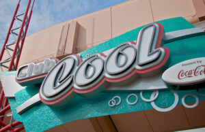 Sneak Peek of the new Club Cool at Epcot