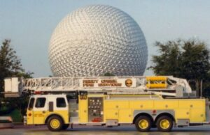 Local Fire Department Asks Disney for Covid-19 Benefits