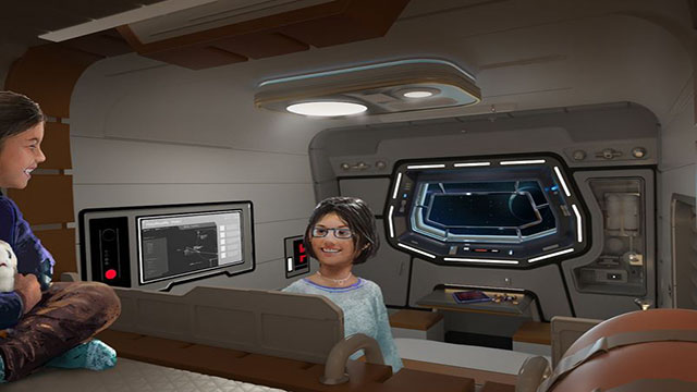 Out-of-this-galaxy rooms await you on the Star Wars: Galactic Starcruiser