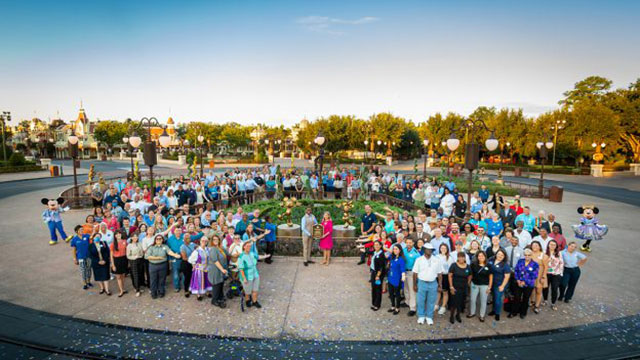 Honoring Walt Disney World Cast Members with a Special Dedication