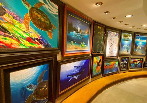 Wyland Galleries at Disney's Boardwalk Resort Offers Unique Art