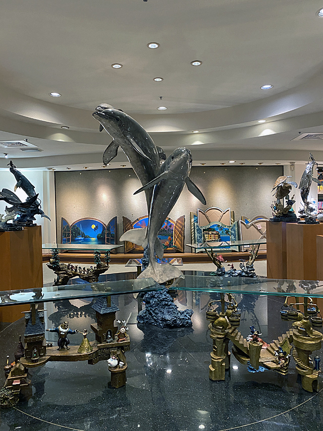 Check out the Unique Wyland Galleries of Florida at Disney's Boardwalk Resort