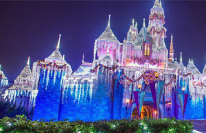 Festivities at Disneyland's new Merriest Nites Holiday After Hours Event