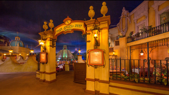 San Angel Inn Restaurante is beautifully themed dining at Epcot
