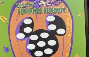 New Pluto's Pumpkin Pursuit During Halloween at Disneyland Resort