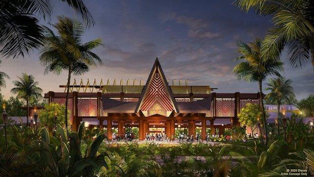 New Polynesian Resort Entrance is Open