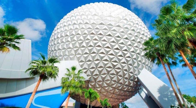 See the stunning Beacon of Magic transformation of Spaceship Earth!