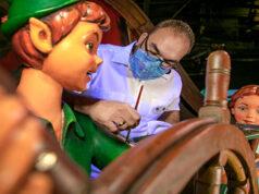 Cast Members prepare for Walt Disney World's 50th Anniversary