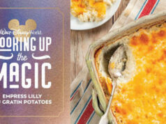 Make Empress Lilly Au Gratin Potatoes from Disney's new cookbook Delicious Disney`