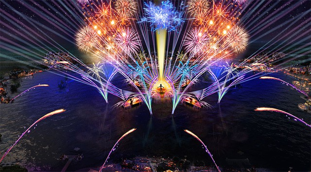 First Impressions Watching the New Harmonious Fireworks Show at Epcot