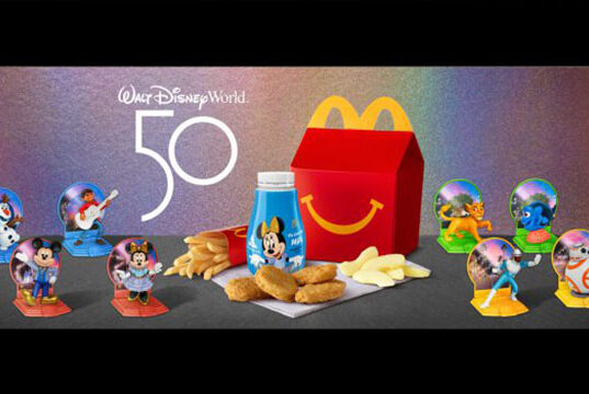 Win a trip to Walt Disney World...by eating fast food?!