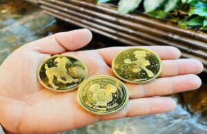 50th anniversary pressed pennies and medallions are now available in Disney World