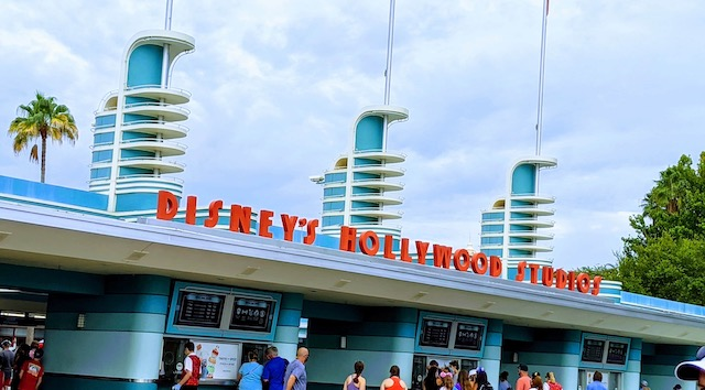 Check out this unusual sight at Disney's Hollywood Studios