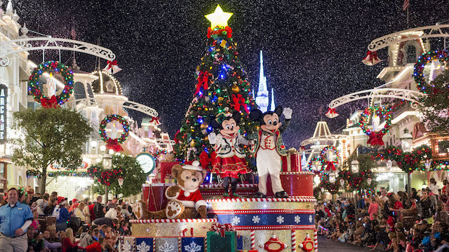 Disney World Releases New Theme Park Hours for the Christmas Season