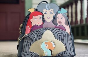 New Loungefly Disney Castle and Villains Scene Collection
