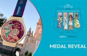 NEW Princess Half Marathon Weekend Medals Revealed