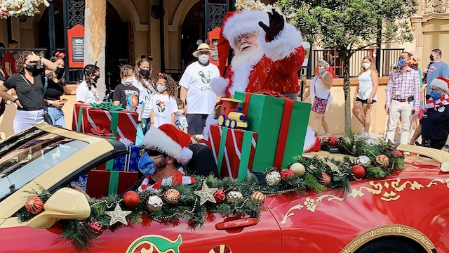 Where to find Santa Claus at Disney World this Christmas