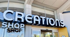 The new Creations Shop is a stunning piece of merchandise artwork