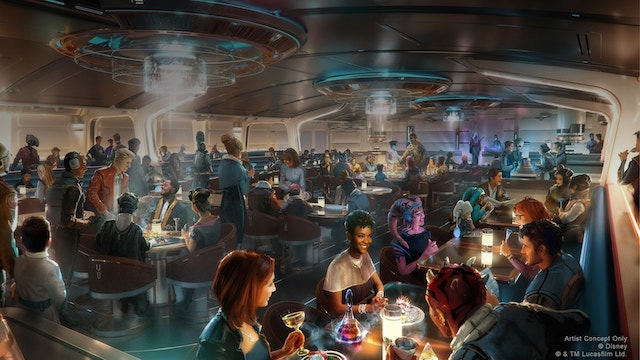 Galactic Starcruiser Captain's Table will offer special add-ons