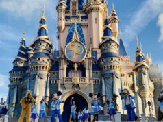 Photos and Video: Magic Kingdom welcome show debuts with a 50th anniversary theme
