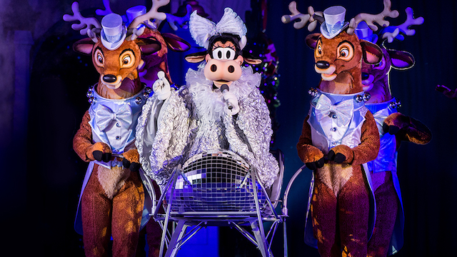 A brand new stage show is coming to Disney World this holiday season